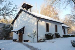 St. Oranna Kapelle Berus im Schnee